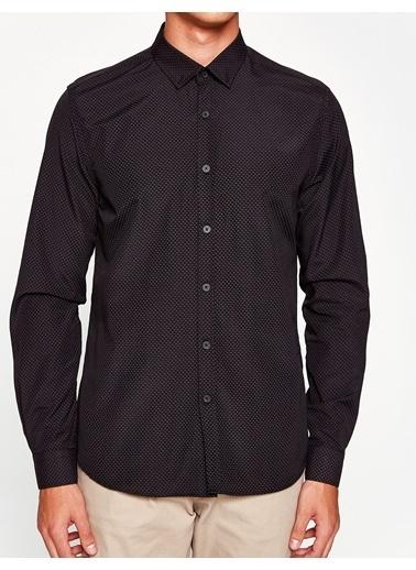 Koton Uzun Kollu Gömlek Siyah